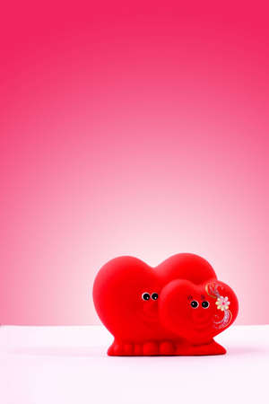 Valentine hearts figure