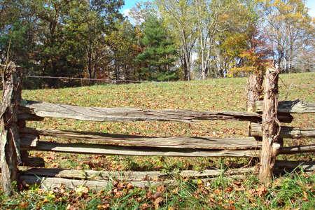 split rail: Split Rail Fence