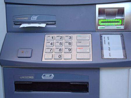 ATM Stock Photo