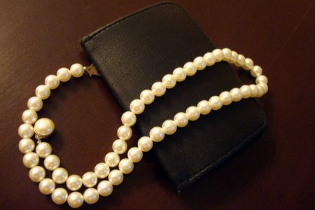 Pearls and Wallet