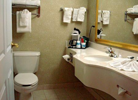 Holtel Bathroom Stock Photo - 2213609