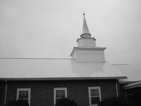 Old Church and Steeple photo