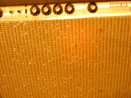 amp: Vintage Bass Amp Stock Photo