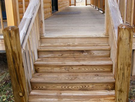 new entry: Steps To Porch