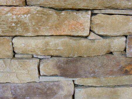 outdoor fireplace: Rock Work - Closeup
