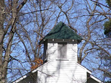 country church: Old Country Church Steeple