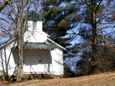 country church: Old Country Church Stock Photo