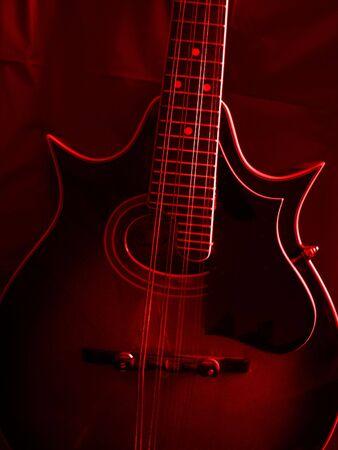 mandolin: Mandolin in Red