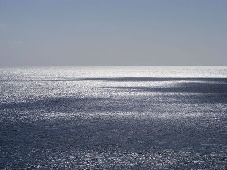 glistening: Brillante Mar  Foto de archivo