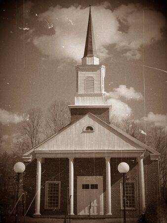 Vintage Church Photo photo