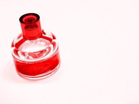 Red And Clear Bottle Banco de Imagens - 2521380