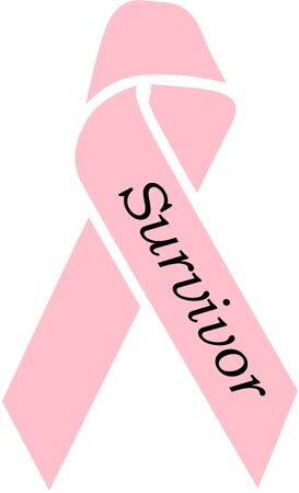 Pink Survivor Ribbon