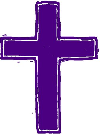 lent: Purple Cross