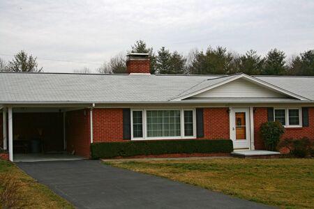 Brick Home With Carport