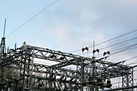 electric grid: Substation Lines