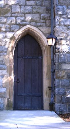arched: Vintage Arched Wooden Door