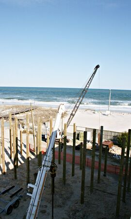 beach front: Beach Front Construction