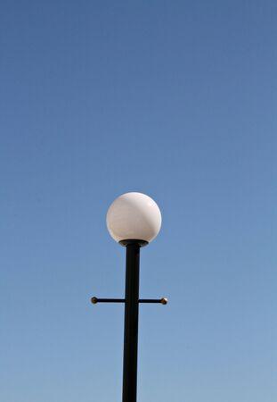 lamp post: Exterior Lamp Post Stock Photo