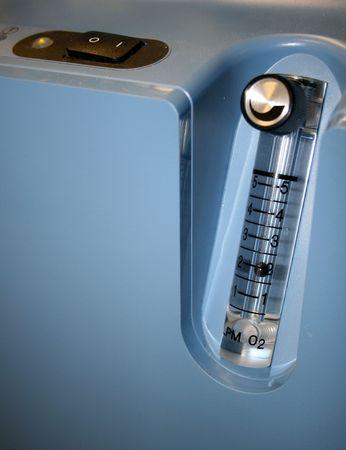 Oxygen Concentrator Set At 2 Liters