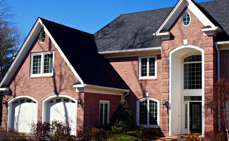 Large Brick home With Double Garage photo