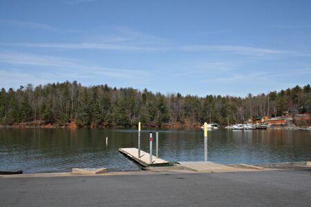 Boat Launch At Lake