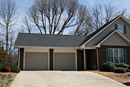 Home With Double Garage