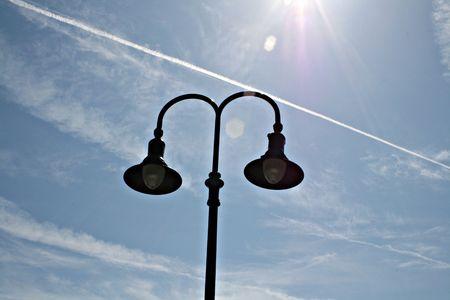 Exterior Lamp Pole