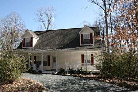 Modern Home Stock Photo - 2734552