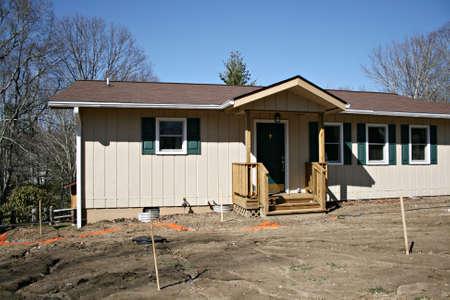 needing: New Home Needing Landscaping