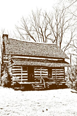 Old Log Cabin photo