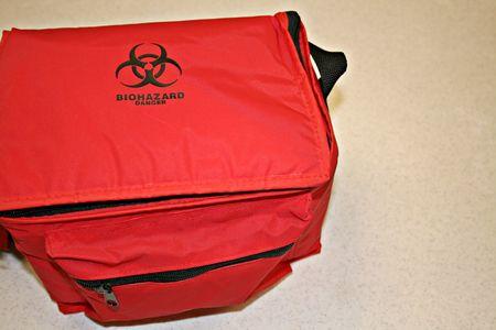 Bio-Hazard Bag Stock fotó
