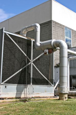 Industrial Ventilation System Stock Photo - 2893231