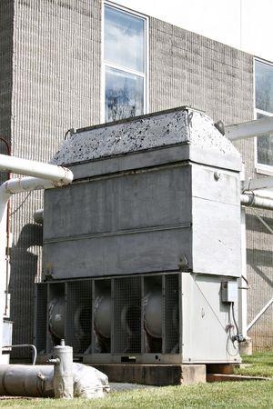 ventilate: Industrial Exhaust Stock Photo