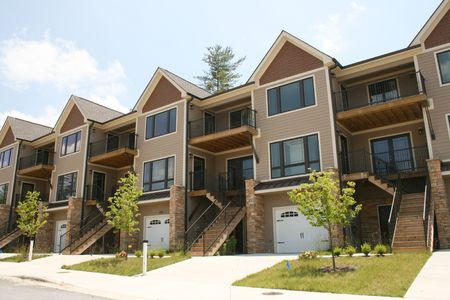 condominium: Row Of Condos
