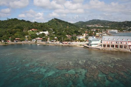 Roatan With Beautiful Water View