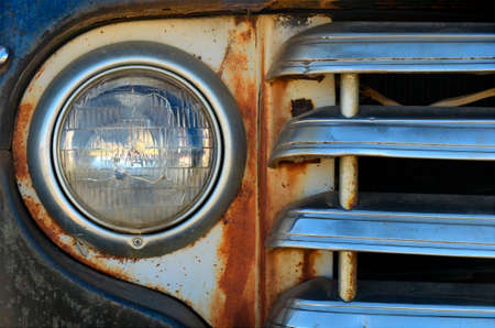 rusty: Rusty Headlight