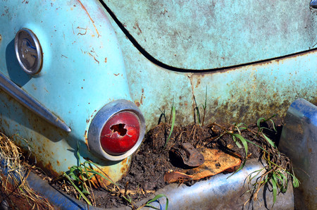 rusty car: Old Rusty Car