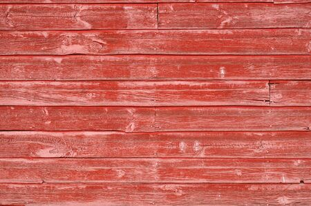 painted wood: An image of red painted wood.