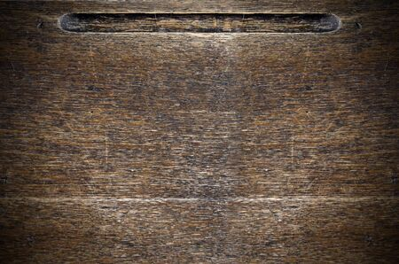 old desk: An image of an old wooden desk top.