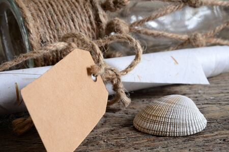 notepaper: Seashells and Notepaper