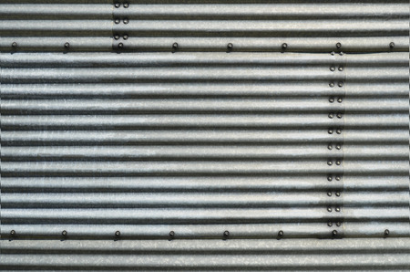 Corrugated Steel Background