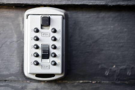 Grijze Metalen Lock Box