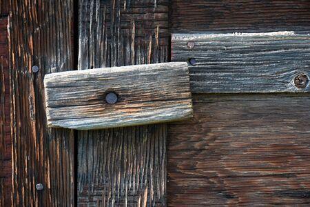 nails: Barn Door Abstract
