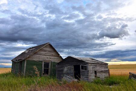 Vintage Homestead Stock Photo