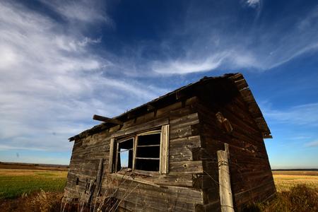 Old Homestead Stock Photo