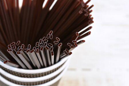 Brown Plastic Stir Sticks