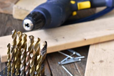 Carpentry Tools Close Up