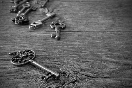 Antique Door Keys Stock Photo - 97190749 - Antique Door Keys Stock Photo, Picture And Royalty Free Image. Image