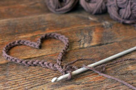 Crochet Heart Shape