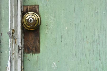 Rusty Old Door Knob